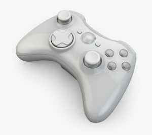 virtual xBox 360 controller - high fidelity model